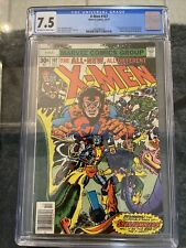 X-MEN 107 ** 1ST APPEARANCE STARJAMMERS  **CGC GRADED 7.5 WP** NEWSSTAND