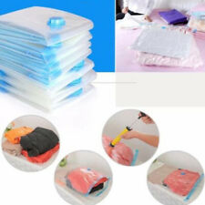 8Pack Large Vacuum Seal Bags Space Saver Bedding Pillows Storage Plastic