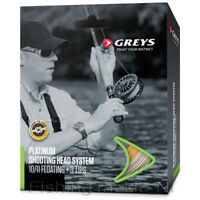 Greys Platinum Shooting Head System Fly Line #9/10 Intermediate Fishing RRP £80