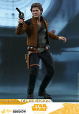 HOT TOYS Han Solo Deluxe Star Wars 1/6 Scale Figure MINT NEW IN BOX!!!