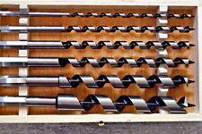 6 tlg. Schlangenbohrer Satz 6 - 20 mm 230 mm lang Holzbohrer Schlangen Bohrer