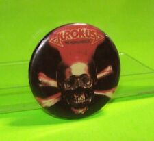 Original Collectors Badge KROKUS Headhunter 1980s Heavy Metal Hard Rock Pin