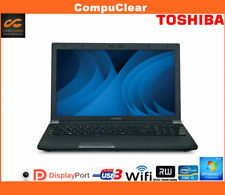 "Toshiba R850, 15.6"" Laptop, i5 2.5GHz, 4GB RAM, 320GB HDD, USB 3, Win 7 Pro REF1"