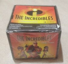 2004 Panini Disney's The Incredibles Stickers - Factory Sealed Box of 50 Packs