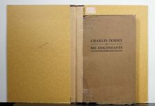 Charles Dorsey and His Descendants 1925 Thurman Genealogy Champaign County Ohio