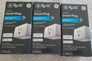 3-Pack GE Indoor Smart Plug  WiFi Alexa/Google