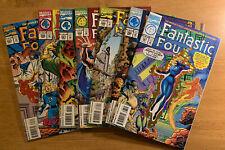 Fantastic Four Comics Lot!  387 (foil die-cut cover) 388 389 390 391 392 393
