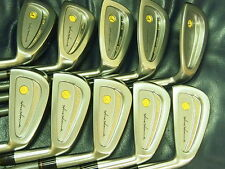 Honma Mens LB708 cavity 18K gold golf iron 3 stars Excellent!