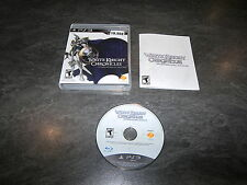 JEU PS3 US WHITE KNIGHT CHRONICLES INTERNATIONAL EDITION COMPLET OCCASION