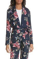 Joie Women's Anasophia Tie Silk Blazer MSRP $368 Size S # 6A 3 Blm