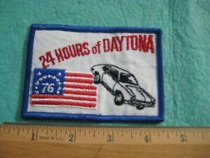 Vintage 24 Hours Of Daytona 1976 Bicentennial Patch
