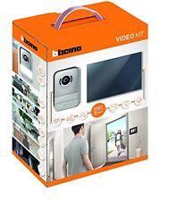 BTicino 317013 Kit Videocitofono 2 Fili Finitura Specchio (P9e)