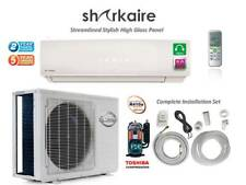 12000 BTU Mini Split Ductless Air Conditioner, 1 Ton Heat Pump, Smart Remote