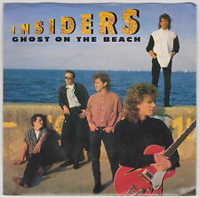 INSIDERS - GHOST ON THE BEACH - RARE DJ DEMO COPY - 45 RPM VINYL - 1987