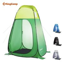 KingCamp Portable Shower Tent Camping Pop up Portable Room Beach Toilet Tent