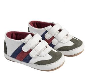 Robeez first kicks JAYDEN white size 3-6mo, Crib Shoe, Sneaker, new