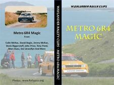 Metro 6R4 Magic & Toyota Magic DVD's - Rallying RWD 4WD  Tony Pond Billy Coleman