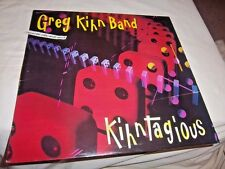 GREG KIHN BAND-KIHNTAGIOUS + GLASS HOUSE ROCK (2 ALBUMS) NM/VG+ VINYL RECORD LP