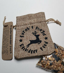 Magic Reindeer Food Bag Kids Personalised Christmas Eve box Fillers Keepsake Fun