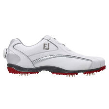 Footjoy Mens Hydrolite Golf Shoes BOA 50077 / White - Red / UK 9.5 Medium 2015