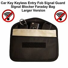 Car Key Keyless Entry Fob Signal Blocker Faraday Bag - Larger Version