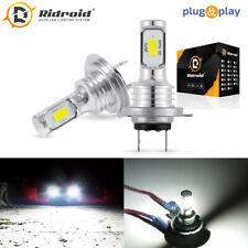 2x H7 LED Headlight Bulbs Conversion Kit Super High/Low Beam 100W 8000LM 6000K