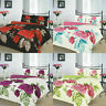 New Luxury Floral Duvet Cover Bedding Bed Set Pillow Cases ISABELLA All Sizes