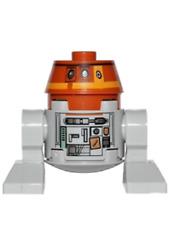 BN Lego Star Wars Chopper droid astromech mini figure (75048) minifigure (75158)