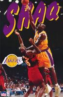 POSTER :NBA BASKETBALL: SHAQ SHAQUILLE O'NEAL - LA LAKERS - FREE SHIP     RC12 i