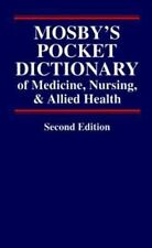 Mosby's Pocket Dictionary of Medicine, Nursing and Allied Health 1994