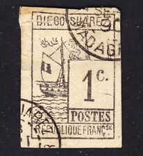 Madagascar Diego-Suarez Scott 6  Fine used highly deceiptful forgery.