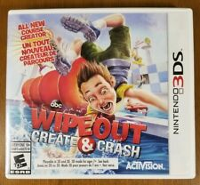 Wipeout: Create & Crash (Nintendo 3DS, 2013) Complete