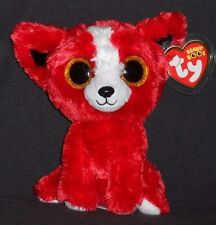 TY BEANIE BOOS - TOMATO the RED DOG - GIFT SHOW EXCLUSIVE with TAG - SEE PICS