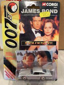 Corgi James Bond Aston Martin DB5 from Goldeneye + Collector Card