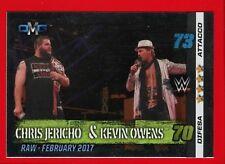 WWE SLAM ATTAX 10th Edition -Topps 2017- Card n. 69 - JERICHO & OWENS