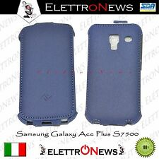 Custodia Cover Samsung Galaxy Ace Plus S7500 flip verticale