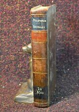 1st American Edition Leather-bound ALCIPHRON MINUTE PHILOSOPHER by Berkley 1803