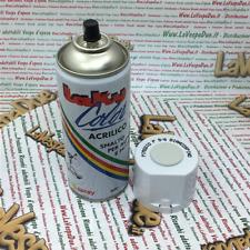 Vernice pittura Spray Smalto Acrilico per VESPA PIAGGIO BIANCO SPINO P9/6 400ml