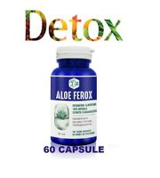 DETOX 60 CPS ALOE FEROX, ANTICOLESTEROLO 100%, PULIZIA COLON !OFFERTA PROVA