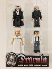 MiniMates Dracula 4-Pack RENFIELD MINA HELSING DRACULA Diamond Select New Loose