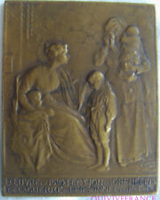 MED6810 - MEDAILLE OEUVRE DES PROTECTION DES ORPHELINS 1914-1918 PTT par PUECH