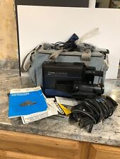 Rare Teknika VHS Camera Video Movie Auto Focus/newvicon C5010