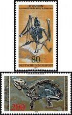 BRD (BR.Deutschland) 974-975 (kompl.Ausgabe) gestempelt 1978 Fossilien
