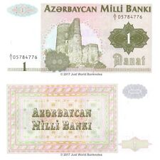 Azerbaijan 1 Manat 1992 1st Prefix  'A/1'   P-11  Banknotes UNC