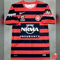 Authentic Nike Western Sydney Wanderers 2014/15 Home Jersey. Size S, Exc Cond.