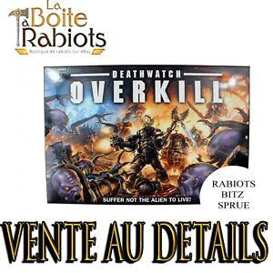 Warhammer 40000-Cult Genestealers-Deathwatch Overkill-Rabiots-Bitz-Sprue