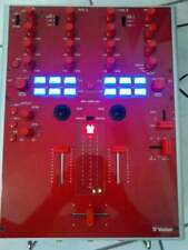 Excellent! Vestax PMC-05 ProⅣ Red DJ Mixer Professional Mixing Controller