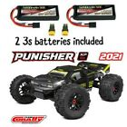 TEAM CORALLY Punisher XP 6S 1/8 Monster  RTR Brushless W/ 2 3S LIPO BATTERIES