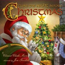 Twas The Night Before Christmas Book By Clement Clarke Moore Hardcover New