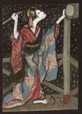 MORI YOSHITOSHI - Original Japanese Painting